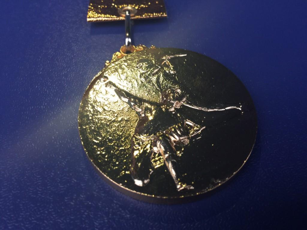 日本一メダル