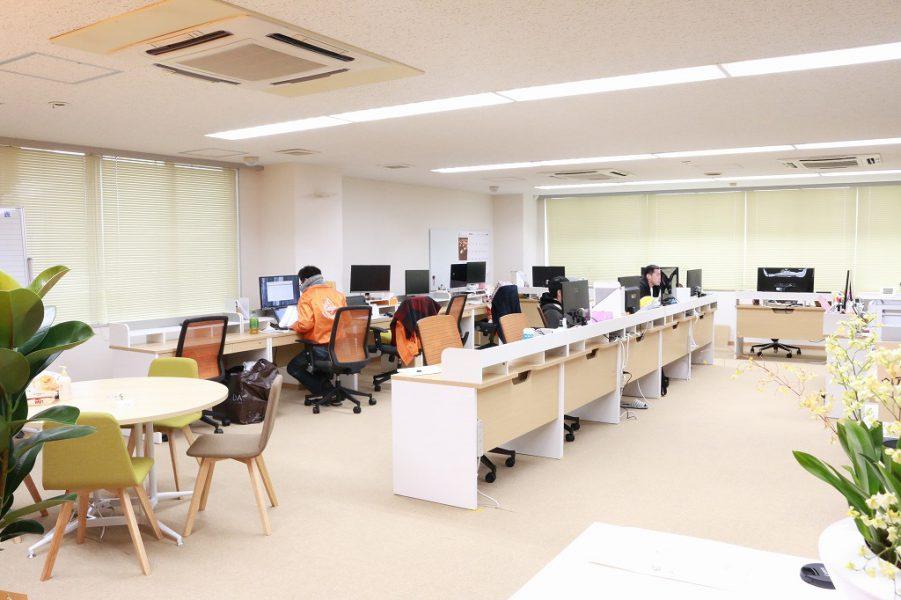 執務スペース|リクト新オフィス