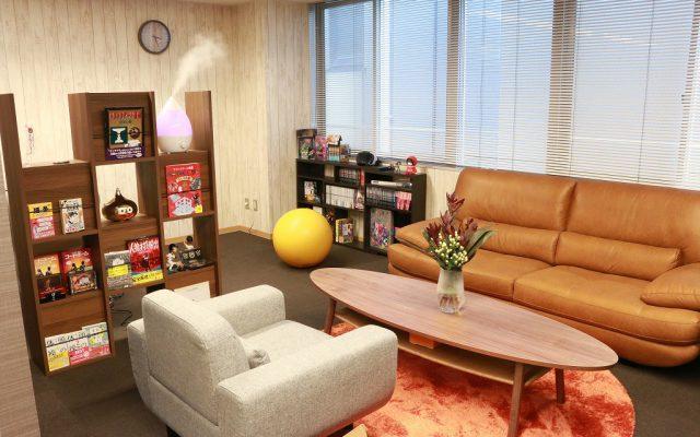休憩スペース|リクト新オフィス